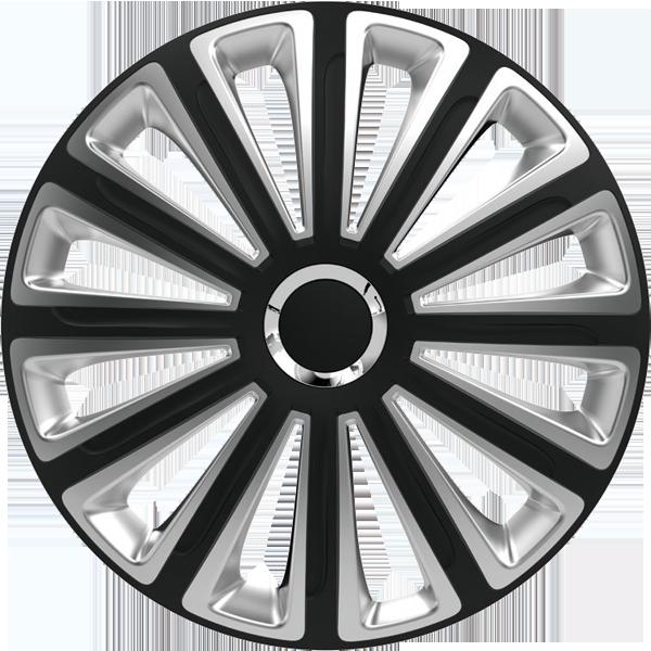 """Dísztárcsa 13"""" Trend Ring Chrome Black & Silver"""