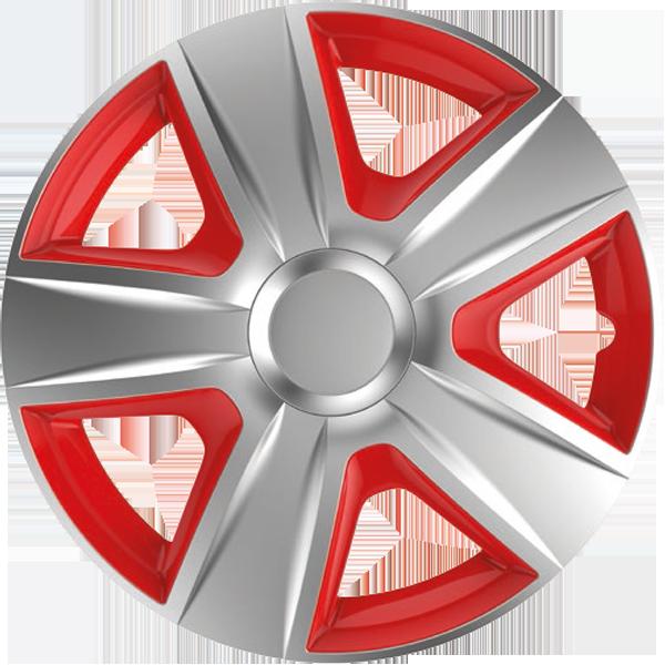 """Dísztárcsa 13"""" Esprit Silver & Red"""