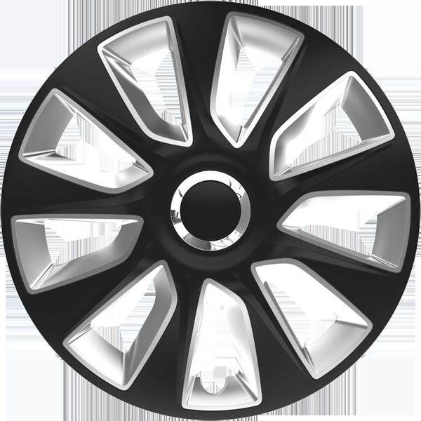 """Dísztárcsa 13"""" Stratos Ring Chrome Black & Silver"""