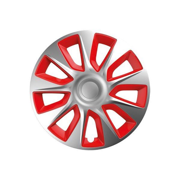 """Dísztárcsa 13"""" Stratos Silver & Red"""
