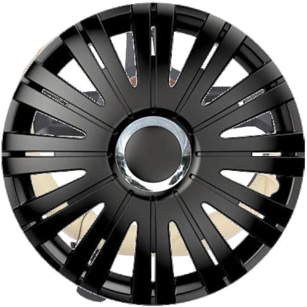 """Dísztárcsa 14"""" Active Ring Chrome Black"""