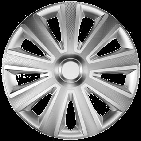 """Dísztárcsa 13"""" Aviator Carbon Silver"""