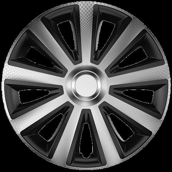 """Dísztárcsa 13"""" Aviator Carbon Silver & Black"""