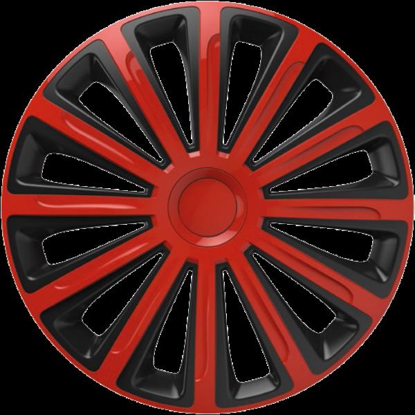 """Dísztárcsa 13"""" Trend Red & Black (KC)"""