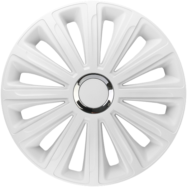 "Dísztárcsa 13"" Trend Ring Chrome White"