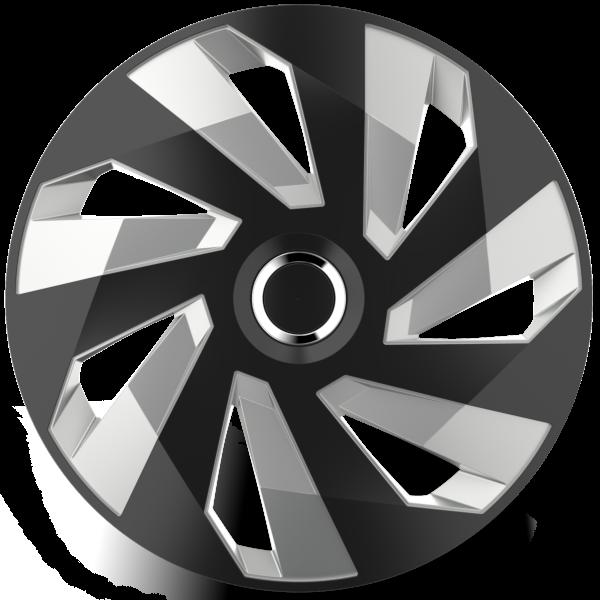 """Dísztárcsa 13"""" Vector Ring Chrome Black&Silver"""