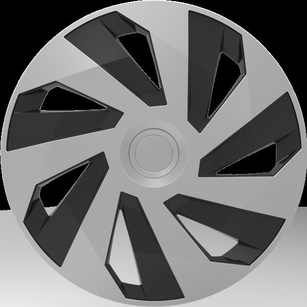 """Dísztárcsa 13"""" Vector Silver&Black"""