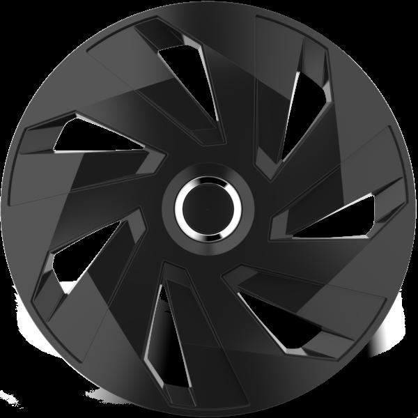 """Dísztárcsa 13"""" Vector Ring Chrome Black"""