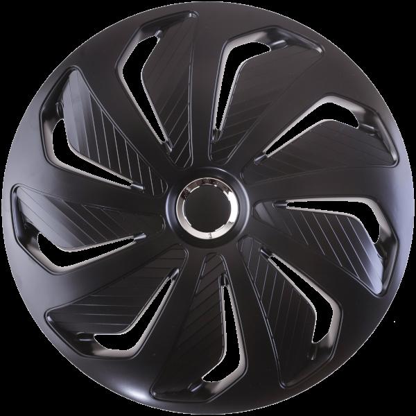 """Dísztárcsa 13"""" Wind Ring Chrome Black"""