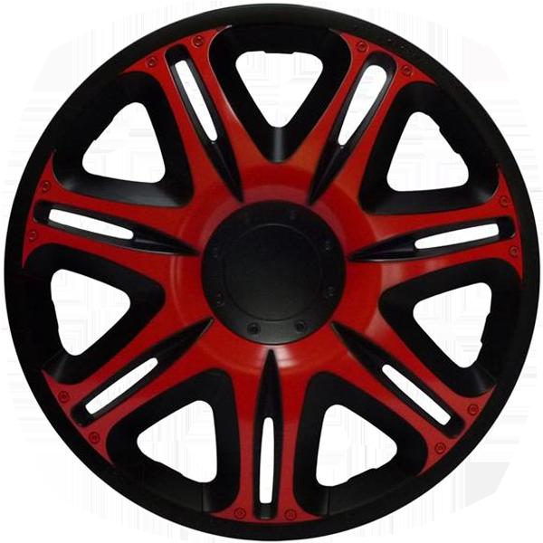 """Dísztárcsa 13"""" Nascar Red-Black"""