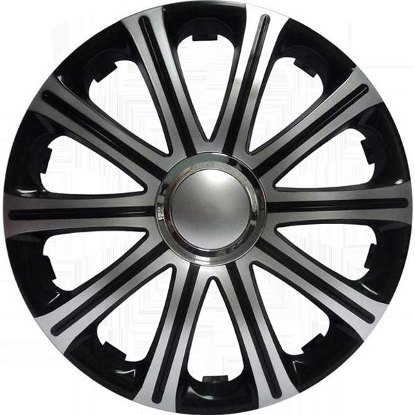 """Dísztárcsa 13"""" Modena Black Silver"""
