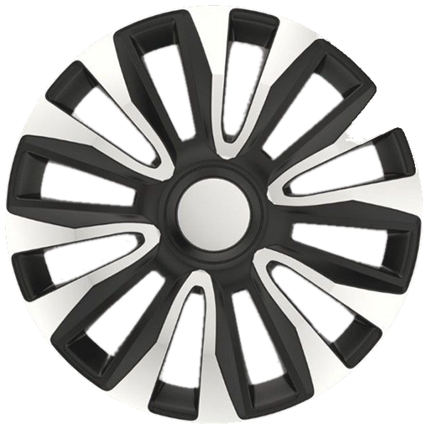 """Dísztárcsa 13"""" Avalon Silver & Black (A13306) (KC)"""