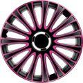 Dísztárcsa 17 Le Mans Pro Pink & Black (A17263) (KC)