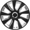 Dísztárcsa 17 Stratos Ring Chrome Black & Silver