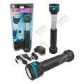 Szerelőlámpa, 30+6 LED, akkumulátoros, teleszkópos (AUKDOCFAT13032, CC42949) (KC)